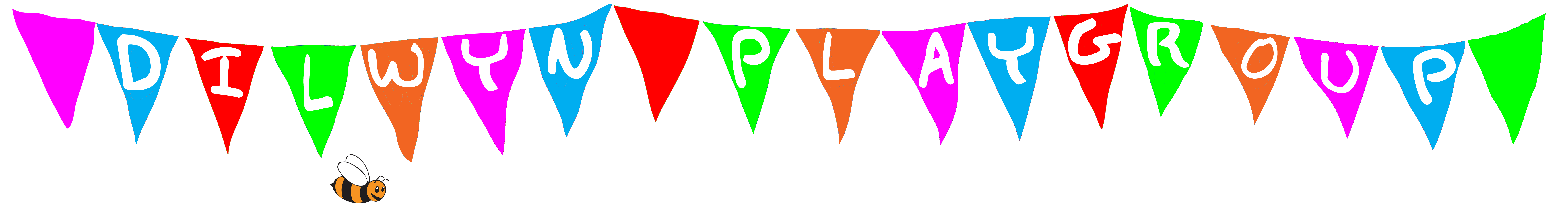 dilwyn playgroup bunting